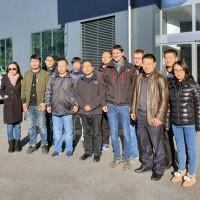 Hangcha China's visit to Switzerland